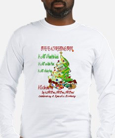 This Is A Christmas Tree Long Sleeve T-Shirt