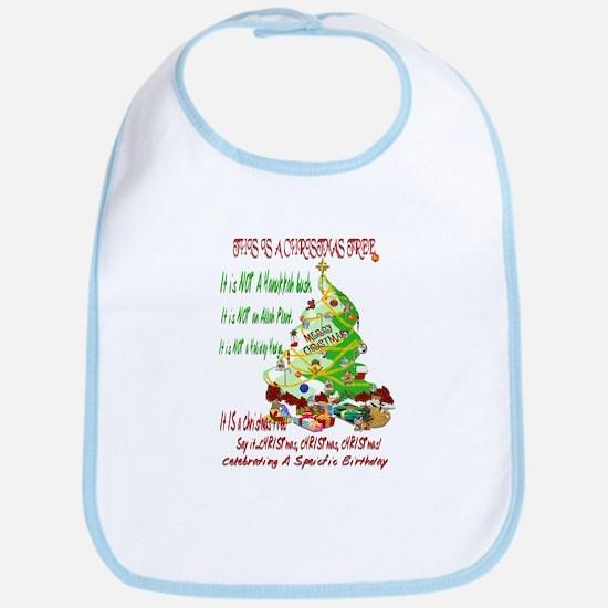 This Is A Christmas Tree Bib