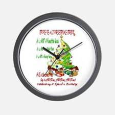 This Is A Christmas Tree Wall Clock