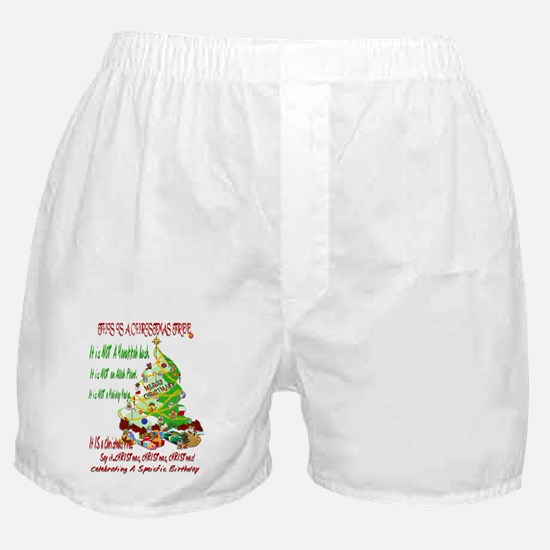 This Is A Christmas Tree Boxer Shorts