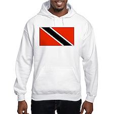 Trinidad Tobago Blank Flag Hoodie