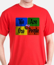 One World, One People T-Shirt