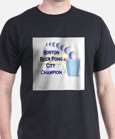 Boston Beer Pong City Champio T-Shirt