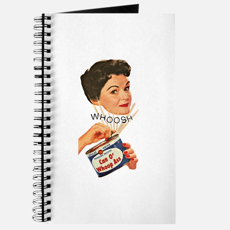 Can Of Whoop Ass Journal