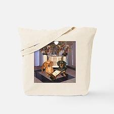 Jewish Dachshunds Tote Bag