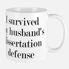My Husband's Dissertation Defense Mug