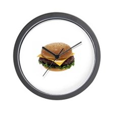 Cheeseburger Love Wall Clock