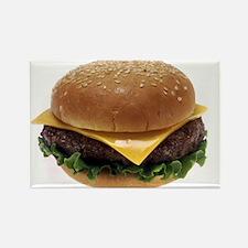 Cheeseburger Love Rectangle Magnet (100 pack)