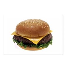 Cheeseburger Love Postcards (Package of 8)