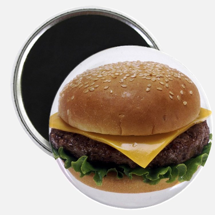 "Cheeseburger Love 2.25"" Magnet (10 pack)"