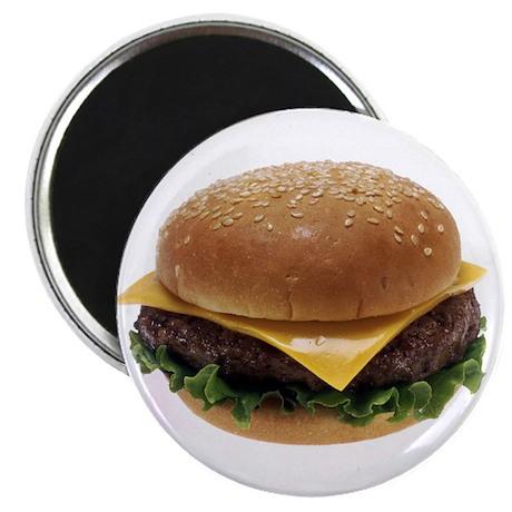 Cheeseburger Love Magnet