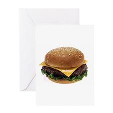 Cheeseburger Love Greeting Card