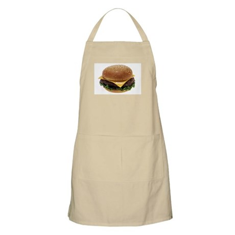 Cheeseburger Love BBQ Apron