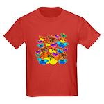 BUTTERFLIES, BUTTERFLIES! Kids Dark T-Shirt