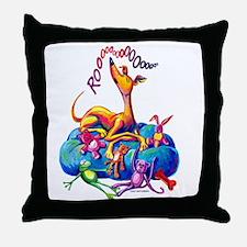 Rooo Throw Pillow