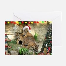 Helaine's Tiger Cubs' Xmas Greeting Cards (Pk of 2