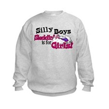 Silly Boys - Snowmobile Sweatshirt