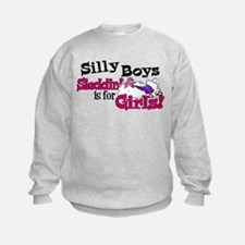 Silly Boys - Snowmobile Sweatshirt
