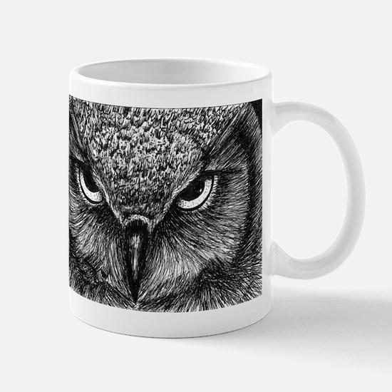 Glaring Owl Mugs