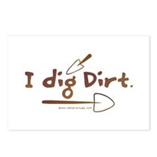I Dig Dirt Postcards (Package of 8)