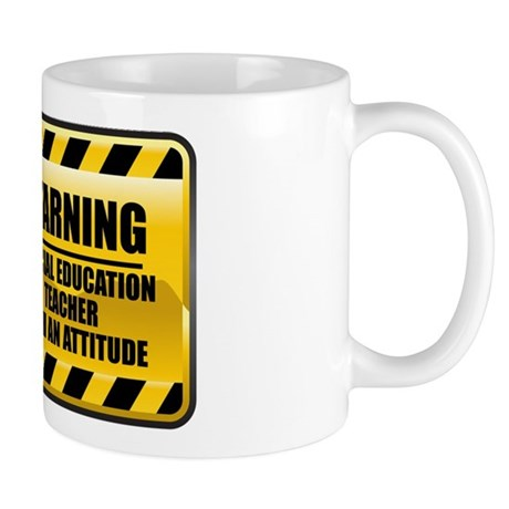 Warning Special Education Teacher Mug