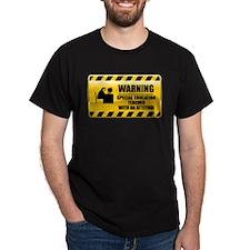 Warning Special Education Teacher T-Shirt