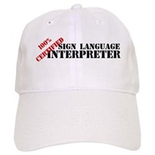 100% Certified Interpreter Baseball Cap