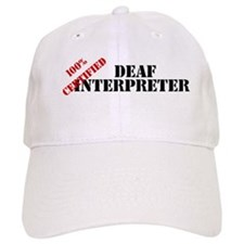 Deaf Interpreter Baseball Cap