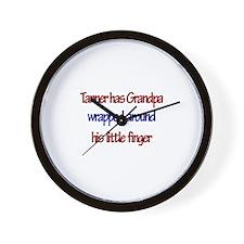 Tanner - Grandpa Wrapped Arou Wall Clock