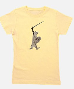 Cute Fantasy cats Girl's Tee