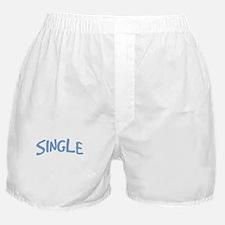 Single Guy Sign Boxer Shorts