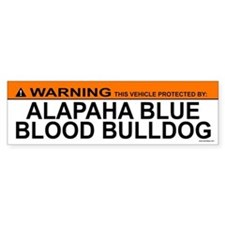 ALAPAHA BLUE BLOOD BULLDOG Bumper Bumper Sticker