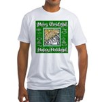 Caroling Angles Fitted T-Shirt