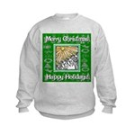 Caroling Angles Kids Sweatshirt