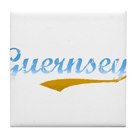 Guernsey Beach Tile Coaster