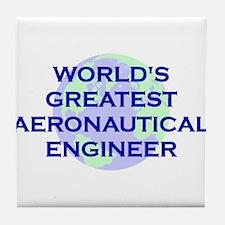 World's Greatest Aeronautical Tile Coaster