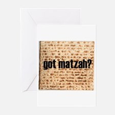 Got Matzah? Greeting Cards (Pk of 10)