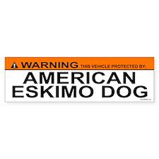 AMERICAN ESKIMO DOG Bumper Bumper Sticker