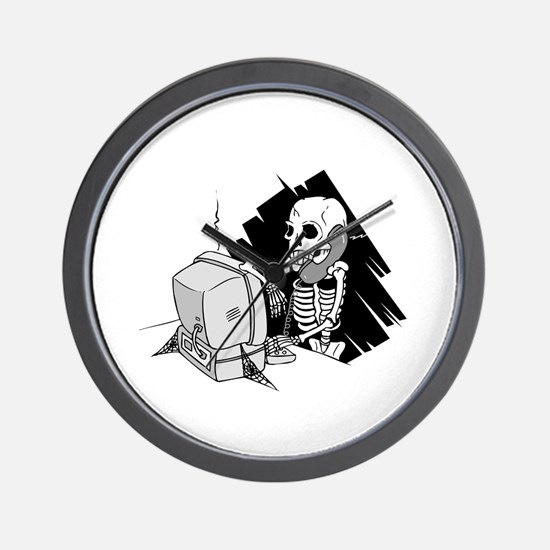 Funny Software Pirate Wall Clock