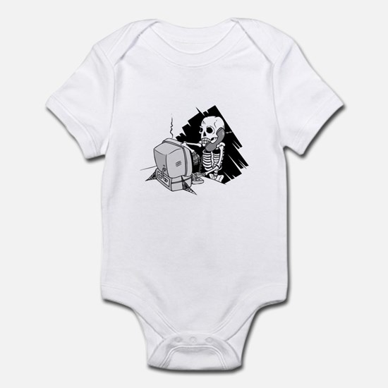 Funny Software Pirate Infant Bodysuit