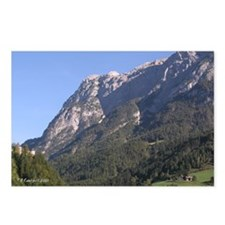 Austria Alps Mountains - Postcards (Package of 8)