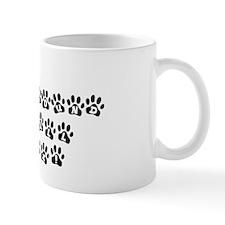 My Afghan Hound Walks All Over Me Mug