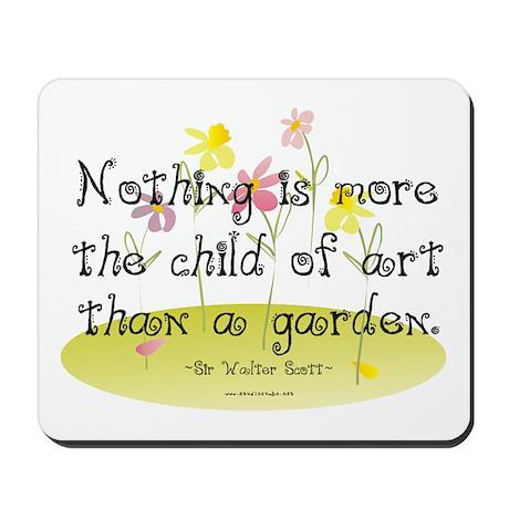 Gardening as Art Mousepad