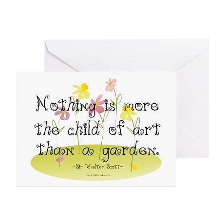 Gardening as Art Greeting Cards (Pk of 20)