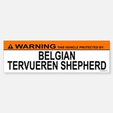 BELGIAN TERVUEREN SHEPHERD Bumper Bumper Bumper Sticker