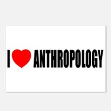 I Love Anthropology Postcards (Package of 8)