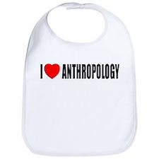I Love Anthropology Bib