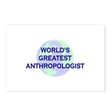 World's Greatest Anthropologi Postcards (Package o