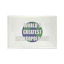 World's Greatest Anthropologi Rectangle Magnet (10