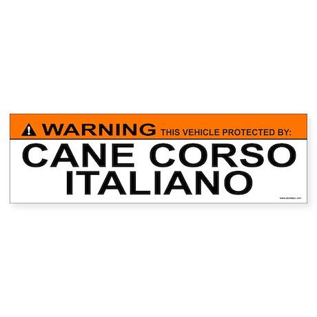 CANE CORSO ITALIANO Bumper Sticker